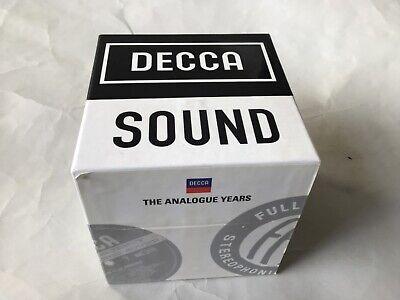 Decca Sound - The Analogue Years 54CD box set 2013 Decca