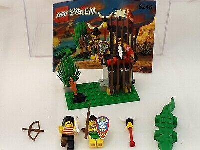 Vintage LEGO Islanders Set 6246 Crocodile Cage Complete w/instructions 1994
