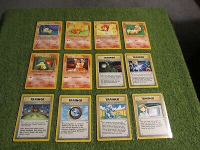 Lot of 12 Unlimited Neo Destiny Pokemon in NM or Better