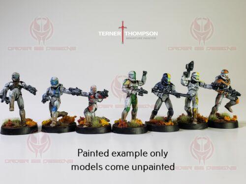Star Wars Legion 3D Printed - Republic Clone Commando Squad