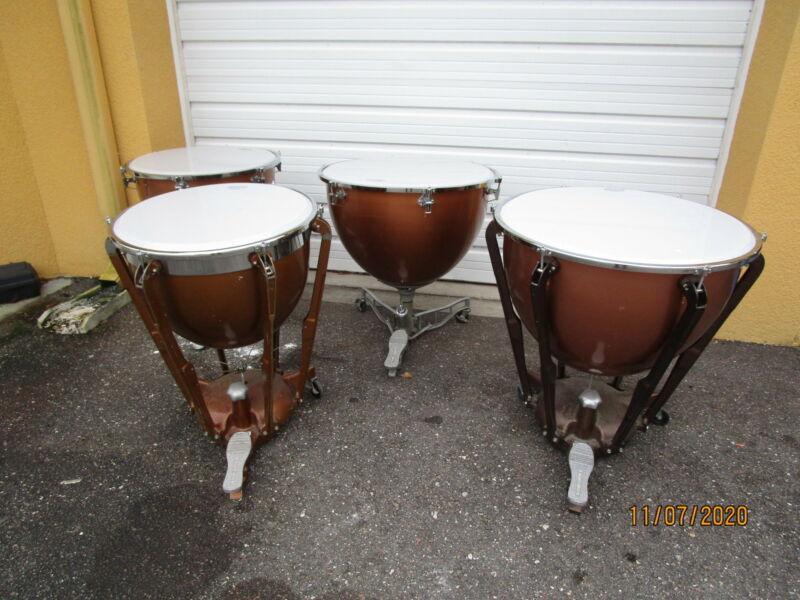 4 Ludwig Timpani Drums