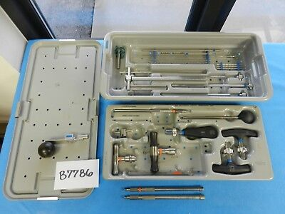 Richards Surgical Orthopedic Simmons Instrument Set W Case