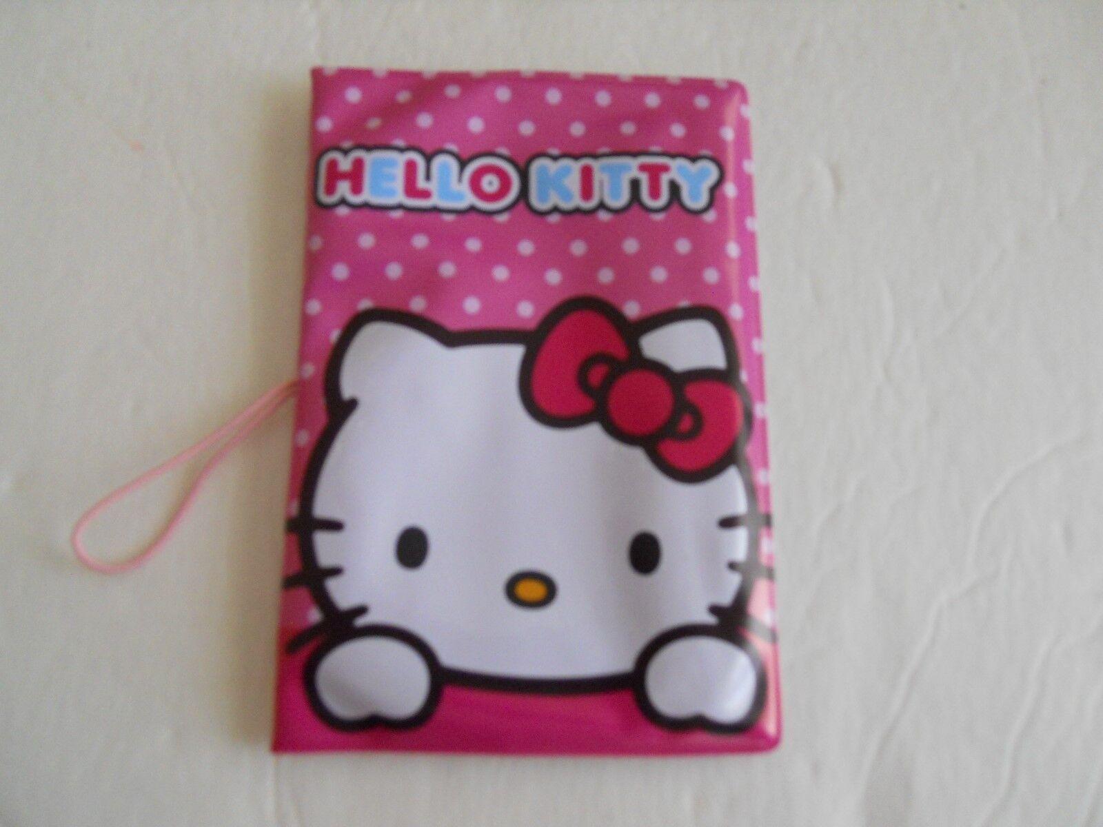 Passport ID Holder Hello Kitty Pink Case 5.25 x3.5 New - $1.00