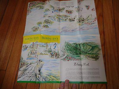 Vintage Brochure for Blowing Rock North Carolina