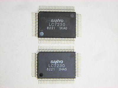 Lc7230 Original Sanyo 80p Smd Ic 2 Pcs
