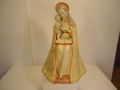 Hummel   Very Rare Yellow Flower Madonna  Double Crown  Mint Condition