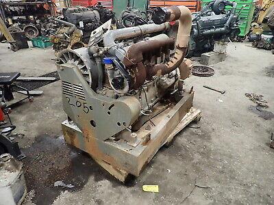 Deutz Bf6l914c Turbo Diesel Engine Power Unit Runs Exc 158 Hp 914 Pump