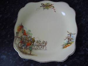 Vintage G&J Meakin Sunshine Hunting and Fishing Plate Northgate Brisbane North East Preview