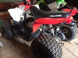 90cc Polaris quad