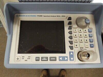 Rohde Schwarz Fs300 Spectrum Analyzer 9khz...3ghz