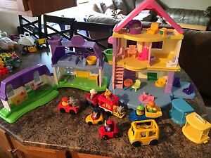 Fisher price little people , little tikes, etc