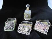 A variety of trinket boxes and perfume bottle Algester Brisbane South West Preview