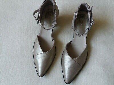 Women's KHRIO Vera Pelle Leather Heels EU Size 38 Mint Condition