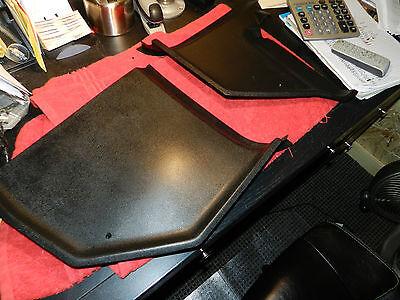 RETEXTURED black OE KICK PANEL SET 68/69/70 ROADRUNNER/CORONET/satellite/charger
