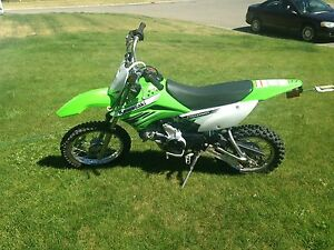 2011 Kawasaki KLX110L  $2,400 o.b.o