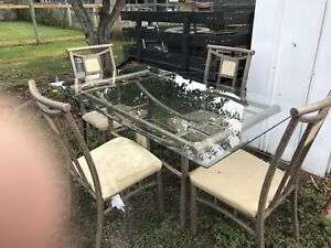 Glass Dinning Room Table