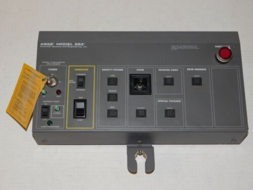 AS&E 66Z Backscatter Baggage Food X-Ray Inspection System Controller Remote Unit
