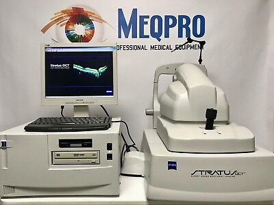 Zeiss Stratus Oct Iii 3000 Tomographer W 7.0 Software