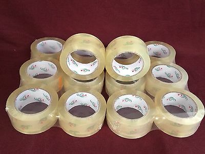 14 Rolls Clear Packaging Tape 2x110 Yards330feet Low Noise Packing Tape