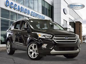 2017 Ford Escape Titanium 4X4 NAV+CUIR+PARK ASSIST