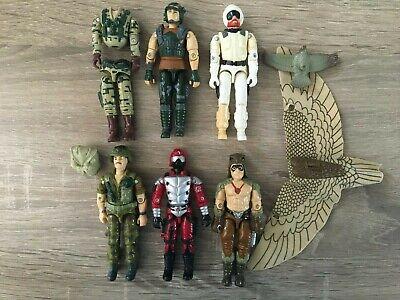 Gi JOE Action Force Figure Job Lot Bundle x6.