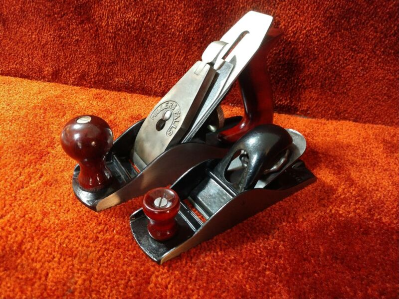 Millers Falls Hand Plane Set, No 4 And matching Block Plane SEE VIDEO