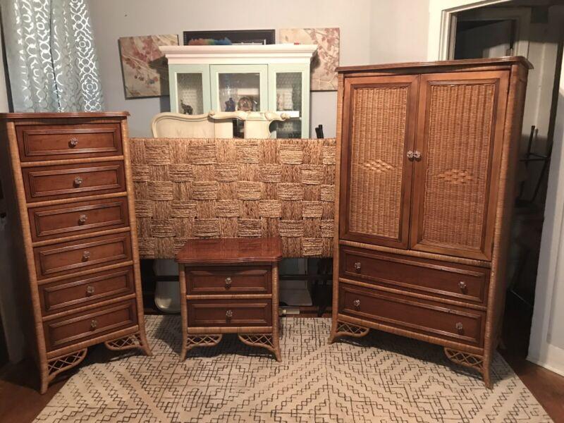 Lexington By Henry Link Wicker Bedroom Set