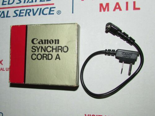 Genuine Canon Synchro Cord A Made in Japan