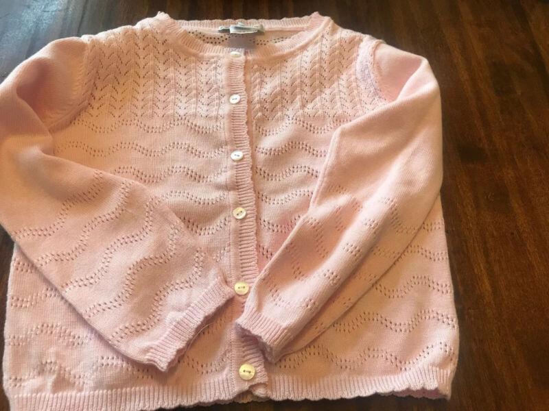 Sarah Louise NWOT Pink Dressy Sweater Size 5