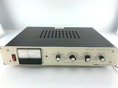 Pacific Precision 204-03l-39151 Model 204 Power Supply