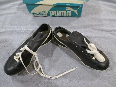 5f757c9534b9 Vintage Puma 1550 Size 6.5 Baseball Cleats Shoes Leather New
