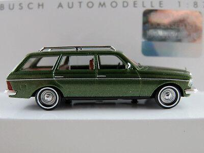 Neu H0 Mercedes-Benz W123 T-Modell Service Fahrzeug Busch 46811-1//87