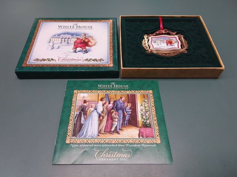 The White House Historical Association 2011 50th Anniversary Christmas Ornament