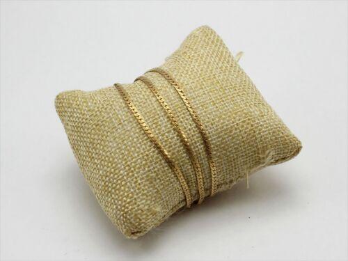 1/20 12K Gold Filled GF Three Strand Bracelet