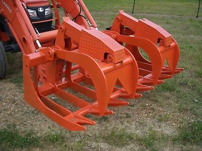 Kubota Skid Steer Attachment - 72 Severe Duty Root Grapple Bucket - Ship 199