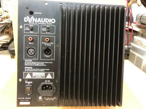 Dynaudio SUB300 SUB500 repair service please read!!!