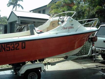half cabin with 70hp Southport Gold Coast City Preview