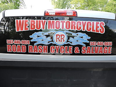 Road Rash Cycle Salvage