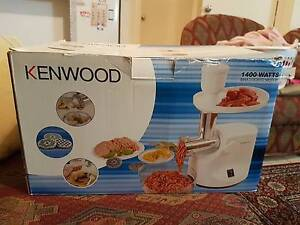 kenwood mincer and sausage maker Mawson Lakes Salisbury Area Preview