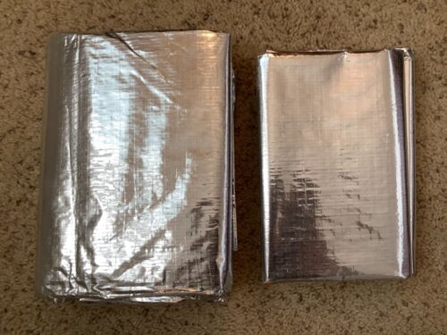 Pair of SOL Emergency Fire Blanket In Case For Home & Office Fire Survival 59x82