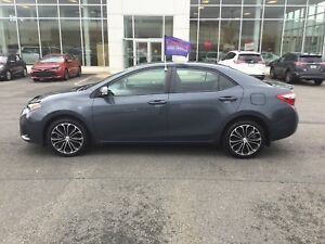 2014 Toyota Corolla S AUTO; AIR; ALLOYS; P/ROOF; BU CAMERA HE...