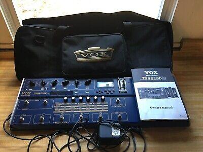 Vox ToneLab SE Guitar Multi Effects Amp Modeler TUBE POWERED Excellent Condition