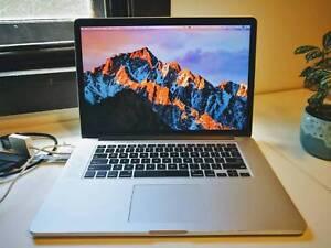 """MacBook Pro (Retina, Mid 2012) 15"""", Core i7, 8GB RAM, 512 GB SSD"""