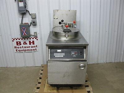 Bki Industries Electric Chicken Fish Pressure Fryer W Filter System Fkm-fc