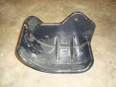 Servis Rhino Bush Hog Mower Left Hand Center Deck Skid Shoe Part 00764020 Oem