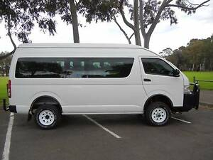 2014 Toyota Hiace Commuter 4x4 Hi Low Range Auto Diesel Alice Springs Alice Springs Area Preview