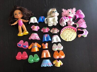 Fisher Price Snap N Style Doll Dog Pet Extra Clothes