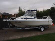 SEAFARER VIKING 5.5 115 HP PRISTINE CONDITION LOW HOURS UNMA...