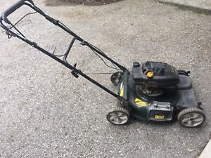 Yard work lawnmower