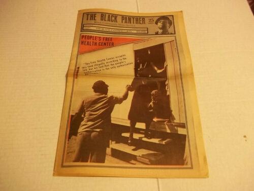 Black Panther Newspaper  June 13, 1970  Huey Newton, Eldridge Cleaver  VG+